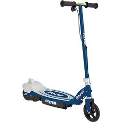 Razor E90 Electric Scooter (Blue, 31 x 14 x 33-Inch)