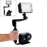 Montura Neewer Multi-Angle Quick Flip de angulo múltiple con soporte para flash para cámaras digitales SLR y Flashes Speedlight