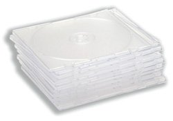 compucessory-cd-case-slimline-jewel-for-1-disk-w125xd5xh124mm-clear-ref-ccs907948-pack-of-10