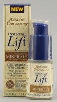 Avalon Organics Essential Lift Contouring Eye Creme -- 0.5 oz (Quantity of 2)
