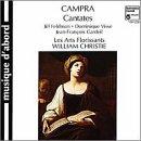 Andre Campra: Cantatas Françaises (French Cantatas)