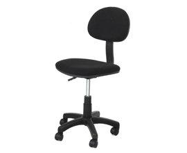 Home Office Computer Desk Swivel Chair Fabric - Color: Black: Amazon
