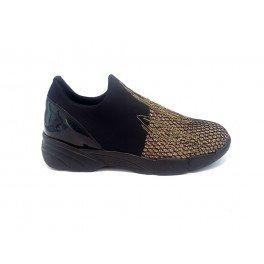 PINKO diluvio sneaker 1h2051.y1rk sneaker in neoprene - Nero, EUR 37