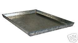 Everila Dog Crate Cage Kennel Replacement Galvanized Steel Metal Pan Tray Floor KRMP24 (Metal Crate Pan compare prices)