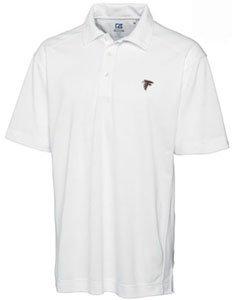 NFL Cutter & Buck Atlanta Falcons Red DryTEC Genre Performance Polo by Cutter & Buck