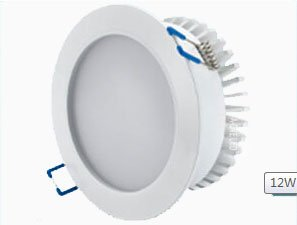 Greatlight Hotel Room Led Ceiling Light Smd Downlight 12W 1050Lm Pure White Ceiling Light Cutout: 95-100Mm