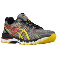 Asics Asics Men's Gel-Kayano 19 Running Shoe (11 D(M) Us, Charcoal/Sunburst/Fl)