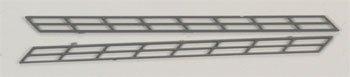 "Plastruct SR-2 N Stair Rail,3/32"" (2) PLS90481"