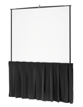 Da-Lite Tripod Skirt - Projection screen skirt - black