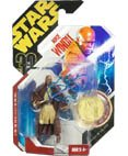 Star Wars Mace Windu Ultimate Galactic Hunt 3 3/4 inch Action Figure with Vac-Metalized Gold Colored Coin - 1