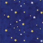 Starfield Wall And Floor Stencil - 8 Full Repeats - Production Stencil8 -- 10 Mil Medium-Duty front-134130