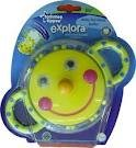 TOMMEE TIPPEE EXPLORA SMILEY FACE MIRROR 0M+ BPA FREE