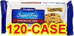 Murray's Sugar Free Chocolate Chip Cookies Case of 120 Packs