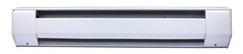 King 3K1207Bw 750-Watt 120-Volt 3-Foot Baseboard Heater, Bright White