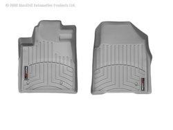 WeatherTech Custom Fit Front FloorLiner for Select Honda Pilot Models (Grey) (Honda Pilot 2014 Weathertech compare prices)