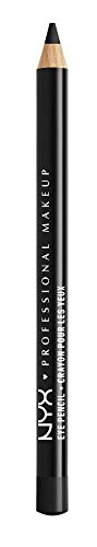 Nyx Professional Makeup Slim Eye Pencil, Black, 1.1g
