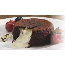 Chudleighs Molten White Chocolate Lava Cake, 3.8 Ounce -- 40 per case.