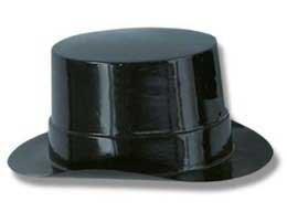 Mini Plastic Top Hat