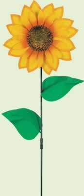 Sunflower Wind-Wheel Party Accessory (1 count) (1/Pkg) - 1