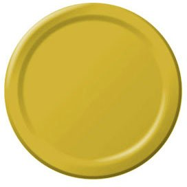 Yellow Sunshine Lunch Plates 24ct - 1