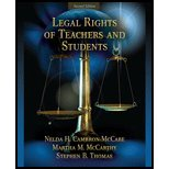 img - for Legal Rights of Teachers & Students (2nd, 09) by Cambron-McCabe, Nelda B - McCarthy, Martha M - Thomas, Steph [Paperback (2008)] book / textbook / text book