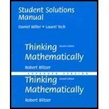 Instructor's Edition: Thinking Mathematically