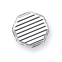 Sterling Silver Tie Tac - JewelryWeb