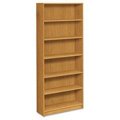 - 1870 Series Bookcase, Six-Shelf, 36w x 11-1/2d x 84h, Harvest
