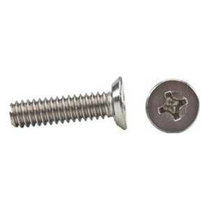"Stainless Steel Phillips Flat Head Machine Screws #8-32 x 1-1//8/"" Qty 50"