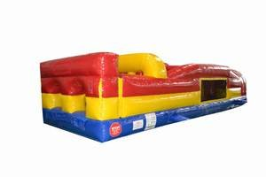 Inflatable Obstacle Course 31 Foot Seven Element Includes 1.5 Hp Blower and Free Shipping