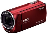Sony HDr-cx220/r High Definition Handycam Camcorder With 2.7-inch Lcd Red
