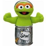 Gund Sesame Street Oscar The Grouch Finger Puppet