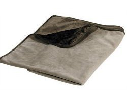 "Plush Pet Throw Size: 48"" W x 53"" D, Color: Taupe (brown teddy)"