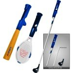 New Sakar Ea Sports 3 1 Sports Kit Nintendo Wii Includes Tennis Racket Baseball Bat High Quality