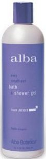 French Lavender Bath & Shower Gel 12 Fl Oz French Lavender - Alba Botanica