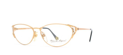 etienne-aigner-76-30-gold-authentic-women-vintage-eyeglasses-frame