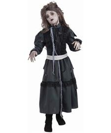 Zombie Girl Costume, Child's Medium