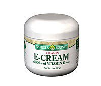 Natures Bounty Inc 359166 Vitamin E Cream 6000 Iu Ea