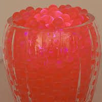 4 oz Jelly BeadZ® Water Bead Gel- CORAL