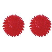 Reflex Massage Therapy Balls - 8 cm - Set of Two