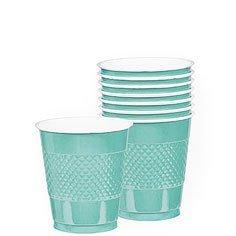 cup 12 oz pl robins egg blue