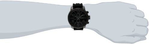 Rocawear Men's RM0210BK1-362 Analog Display Analog Quartz Black Watch