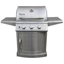 Landmann Barbecue a gas in acciaio inox 304a 3fuochi con coperchio venduto Clearance Store