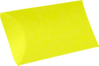 Medium Pillow Boxes (2 1/2 x 7/8 x 4) - Citrus Yellow (10 Qty.)
