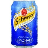 Schweppes Lemonade cans Soft Drinks 330ml x 24
