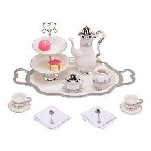 Disney Princess and Me Tea for Two Tea Set -- 15-Pc.