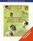 An Introduction to Statistical Methods and Data Analysis, International Edition (0495109142) by R. Lyman Ott