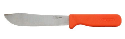 Zenport K113 Row Crop Harvest Knife, Hops and Cabbage, 6.75-Inch Stainless Steel Blade