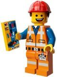 The Lego Movie Emmet Construction Worker Minifigure Series 71004 - 1