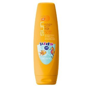 Avon Sun Swim and Protect Waterproof Sun Cream for Kids Sensitive Skin SPF50